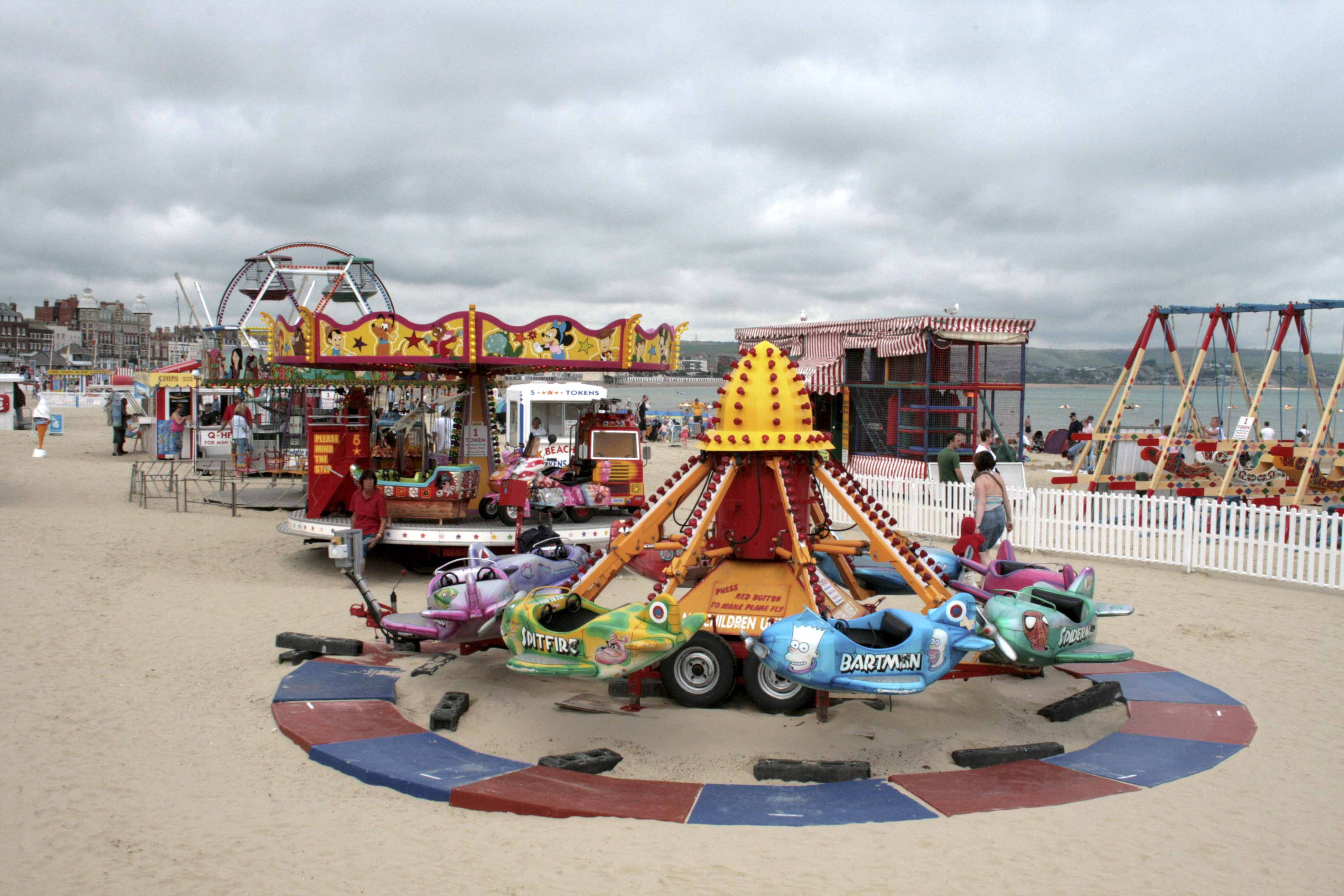 Fairground at Weymouth